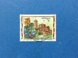 1997 ITALIA FRANCOBOLLO USATO STAMP USED TURISTICA RAVENNA - 6. 1946-.. Repubblica