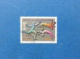 1997 ITALIA FRANCOBOLLO USATO STAMP USED XIII GIOCHI DEL MEDITERRANEO - - 6. 1946-.. Repubblica