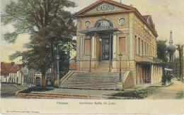 CHIMAY : Ancienne Salle De Jeux - CPA PEU COURANTE - Cachet De La Poste 1906 - Chimay