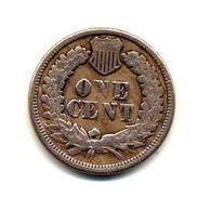 Etats Unis - 1 Cent Indian Head - 1863 - United States