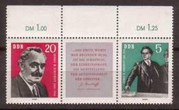 DDR , 1962 , Mi.Nr. W ZD 31 ( 894 / Zf / 893 ) ** / MNH - [6] Repubblica Democratica