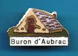 1 PIN'S  //  ** BURON D'AUBRAC ** . (© GL & JC Winner) - Food