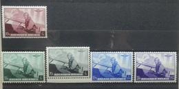 BELGIE  1938     Nr. 466 - 470    Postfris **    CW  23,00 - Belgien