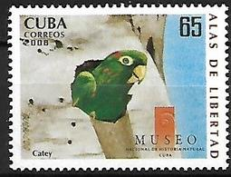CUBA - MNH - 2008 -   Cuban Parakeet    Psittacara Euops - Perroquets & Tropicaux