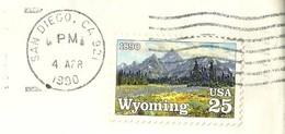 USA Cover SAN DIEGO 1990 WYOMING Good Cancel (GN 0324) - Etats-Unis