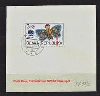 Czech Republic 1996 ⊙ Mi 121 Sc 2991 UNICEF. 50 Jahre Kinderhilfswerk Der VN. Plate Flaw. Tschechische Republik. - Czech Republic