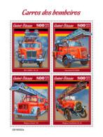 Guinea Bissau  2019  Fire Engines , Fire Trucks   S201905 - Guinée-Bissau