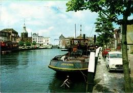 !  Modern Postcard Dordrecht, Auto, Car, Voiture, Ship, Boat, Schiff - PKW