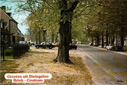 !  Modern Postcard Groeten Uit Dwingeloo, Brink, Autos, Cars, Fiat - PKW