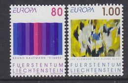 Europa Cept 1993 Liechtenstein 2v  ** Mnh  (43458) - 1993