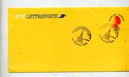 Lettre Entiere Gandon Cachet Hagenthal Consecration Eglise  Entre Ouvert - Postal Stamped Stationery