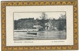 CPA - Environs D`Aywaille - La Ferme D'Ambleve  - Allemande Feldpost  1915 - Aywaille