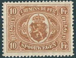 TR132 * Spoor Van Plakker - Obp 38 Euro - 1915-1921