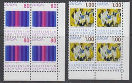 Europa Cept 1993 Liechtenstein 2v  Bl Of 4 (corners) ** Mnh  (43458A) - 1993