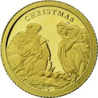 Monnaie, Palau, Christmas, Dollar, 2010, Proof, FDC, Or, KM:445 - Palau