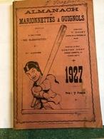Almanach De Marionnettes & Guignols (livre De  147 Pages De 21 Cm Sur 13,5 Cm - Autres