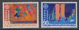 Europa Cept 1992 Liechtenstein 2v ** Mnh (43458B) - 1992