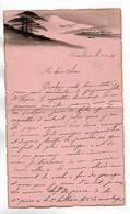 CHINE - Lettre Correspondance écrite De TIENTSIN En 1936 - Belle Illustration En Début De Page - Historical Documents