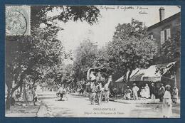 ORLEANSVILLE - Départ De La Diligence De Ténès - Chlef (Orléansville)