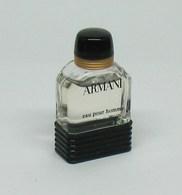 "Miniature De Parfum - Giorgio ARMANI ""Armani"" Eau Pour Homme 5ml - Modern Miniatures (from 1961)"
