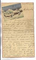 CHINE - Lettre Correspondance écrite De ARSENAL ( TIENTSIN ) En 1938 - Belle Illustration En Début De Page - Historical Documents
