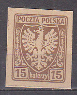 PGL - POLOGNE Yv N°141 (*) - ....-1919 Provisional Government