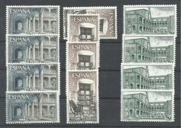 ESPAÑA EDIFIL 1686/88   ( 4 SERIES)  MNH  ** - 1961-70 Nuevos & Fijasellos