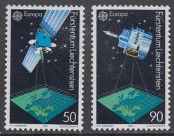 Europa Cept 1991 Liechtenstein 2v ** Mnh (43459A) - 1991