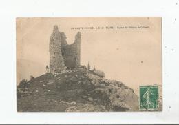 SAURAT CS 90 LA HAUTE ARIEGE RUINES DU CHATEAU DE CALAMES (PETITE ANIMATION) 1910 - Frankreich
