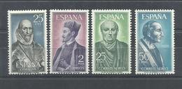 ESPAÑA EDIFIL 1705/8   MNH  ** - 1961-70 Nuevos & Fijasellos