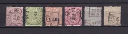 Norddeutscher Postbezirk - 1869 - Michel Nr. 13/18 - 40 Euro - North German Conf.