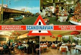!  Modern Postcard Denekamp, Holland, Scandinavian, Restaurant, Supermarket, Grenze - Sonstige