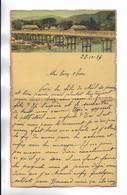 CHINE - Lettre Correspondance écrite De Chine  ( Tientsin ? )  En 1936 - Belle Illustration En Début De Page - Historical Documents