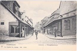 ROSTOCK Scharren- Und Weißgerberstrasse Belebt 1904 TOP- Erhaltung Ungelaufen - Rostock