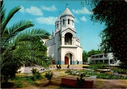 !  Modern Postcard The Grand Armenian Church, Kirche, Baghdad, Iraq, Irak - Iraq