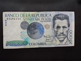 COLOMBIE : 20 000 PESOS  13.6.2003   P 454f        TTB+ - Colombie