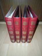 Borek 4x Ringbinder  Rot 6 Ring Lochung (1964) - Álbumes & Encuadernaciones