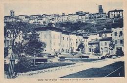 COLLE VAL D'ELSA-SIENA-GIARDINI E VISTA DI COLLE ALTO-CARTOLINA NON VIAGGIATA -ANNO 1930-935 - Siena