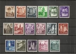 Pologne - Gouvernement Général ( 56/67A X -MH) - 1939-44: 2ème Guerre Mondiale