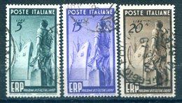 Italie  - Michel 774-776 ERP Obl. - 6. 1946-.. Republic