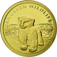 Monnaie, Îles Cook, Elizabeth II, Ours Polaire, 10 Dollars, 2008, Franklin - Cook