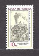Czech Republic 2008 MNH ** Mi 539 Tradition Of Czech Stamp Production Railroad. Tschechische Republik. - Czech Republic