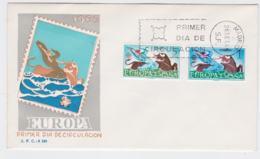 Spain 1966 FDC Europa CEPT (G55-28) - Europa-CEPT