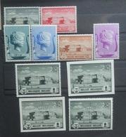 BELGIE  1940     Nr. 532 - 537  /  537 A - 537 B  + Privé       Postfris **      CW  75,00 - Belgique