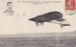 "Les Pionniers De L'air - L'Aéroplane ""Blériot"" En Plein Vol - Avions"