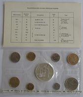 28455g MONNAIE DE PARIS - SERIE FLEURS DE COINS 1974 - Boite D´origine - France