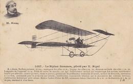 Le Biplan Sommer, Piloté Par V. Rigal - Avions