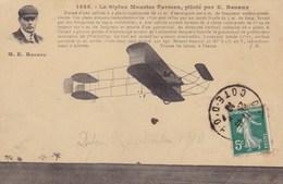 Le Biplan Maurice Farman, Piloté Par E. Renaux - Avions