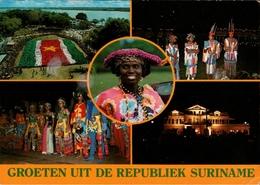!  Modern Postcard Surinam, 1977, Suriname - Surinam