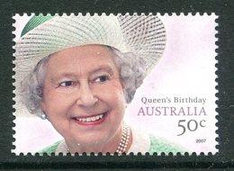 Australia 2007 Queen Elizabeth II's Birthday MNH (SG 2812) - 2000-09 Elizabeth II